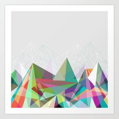 Colorflash 7 Art Print