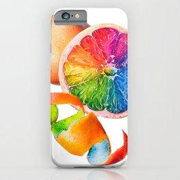 Grainbow Fruit iPhone Case