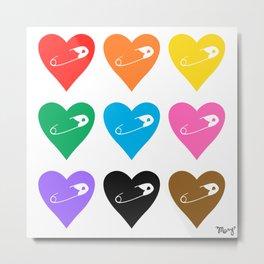 Safety Rainbow Metal Print