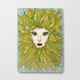 Green Lady - Spring Metal Print
