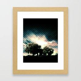Exiting Eden Framed Art Print