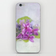 fragrance iPhone & iPod Skin