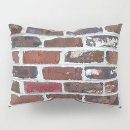 Brick Wall Vertical Pillow Sham