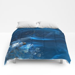 Blue coral melody  Comforters