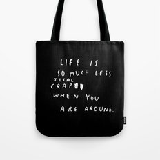 TOTAL CRAP Tote Bag