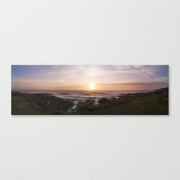 The Rocky Pacific Canvas Print