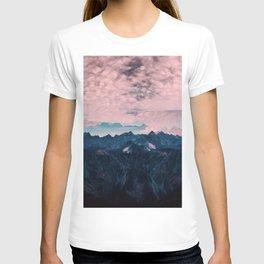 Pastel mountain mood T-shirt