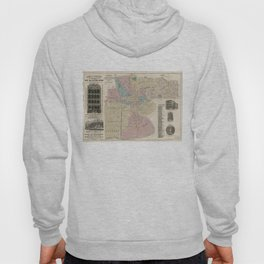 Vintage Map of Newark NJ (1879) Hoody