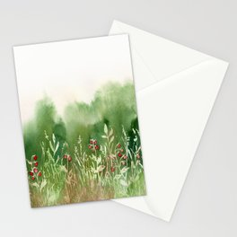 Strawberry Fields for an Indefinite Amount of Time Stationery Cards
