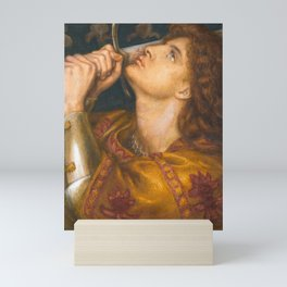 Joan of Arc by Dante Gabriel Rossetti, 1864 Mini Art Print