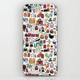 Kawaii Harry Potter Doodle iPhone Skin