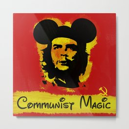 Communist Magic Metal Print