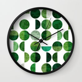 Minimalist pattern I Wall Clock