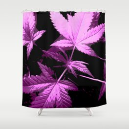 DaPlant Purple - #GreenRush Collective Shower Curtain