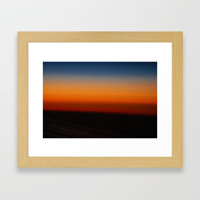 Sunrise Framed Art Print