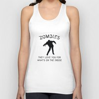 zombies Tank Tops featuring Zombies by AmazingVision