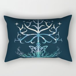 Lightful Tree Rectangular Pillow