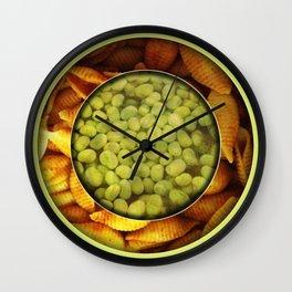Pasta + Beans Wall Clock
