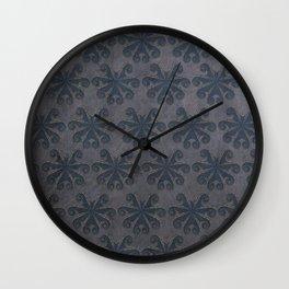 Periwinkle Octopus - blue home decor, sea creature print, animal decor Wall Clock
