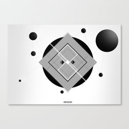 Interlink'in Canvas Print