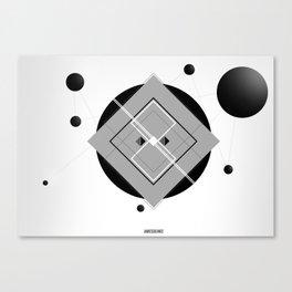 Interlink'in Canvas Print
