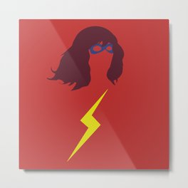 Ms. Kamala Khan Metal Print