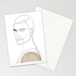 Handsome In Beige Stationery Cards