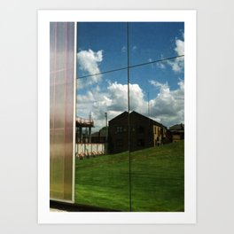 laban reflection Art Print