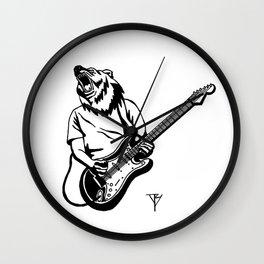 AniMusic (Bear) Wall Clock