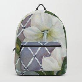 Amaryllis lily Flowers Backpack