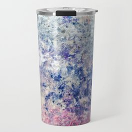 Twilight Tides - Abstract Art Travel Mug