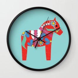 swedish horse Wall Clock
