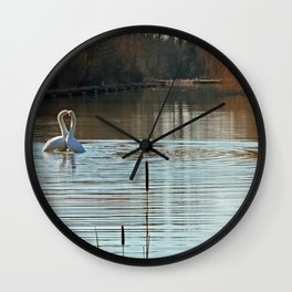 Heart of Gold Wall Clock