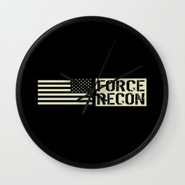 Force Recon Wall Clock