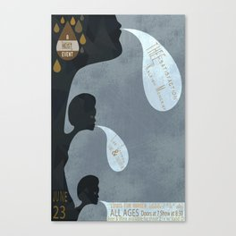 THEEsatisfaction Poster Canvas Print