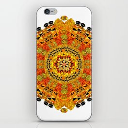 Patterned Sun iPhone Skin