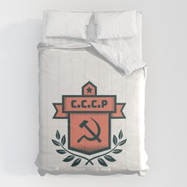 CCCP Modern Coat of Arms Comforters