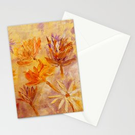 Blaze Of Gold Stationery Cards