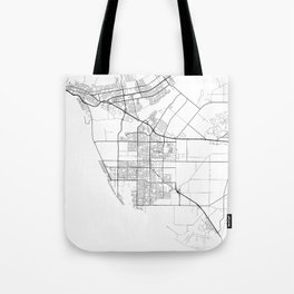 Minimal City Maps - Map Of Oxnard, California, United States Tote Bag