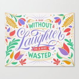 Laughter Canvas Print
