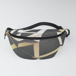 Geo Lines Fanny Pack