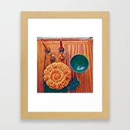 Shabbat Shalom Framed Art Print