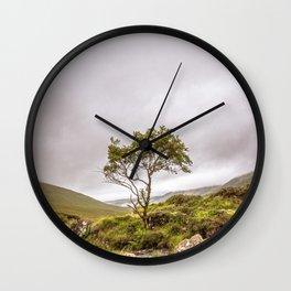 Mountain Ash Wall Clock