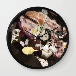 japan memories Wall Clock