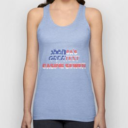America's Greatest Casing Sewer Unisex Tank Top