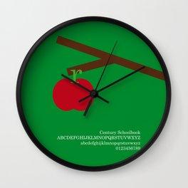 APPLE - FontLove Wall Clock