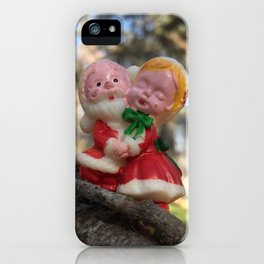 Mr. & Mrs. Enchanted Forest iPhone Case