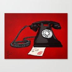 Late Call  Canvas Print