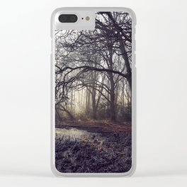 Dawn Shadow Clear iPhone Case