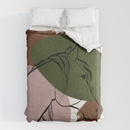 Abstract Equine i Comforters